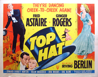 Egyptian Theatre Movie Top Hat Dekalb County Convention