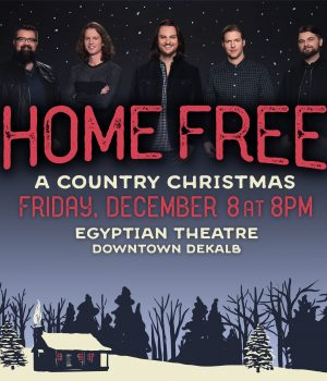we know homefree fans are getting excited for their sold out country christmas show at the egyptian theatre
