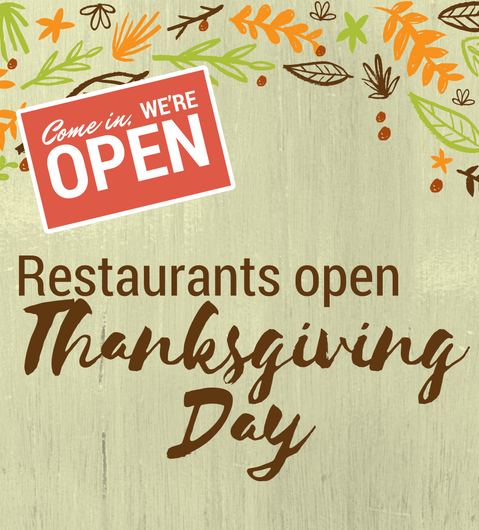 Restaurants Open On Thanksgiving Day Dekalb County Convention And Visitors Bureau