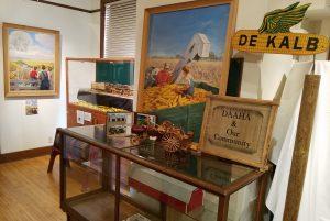 interior shot of the DeKalb Area Agricultural Heritage Association