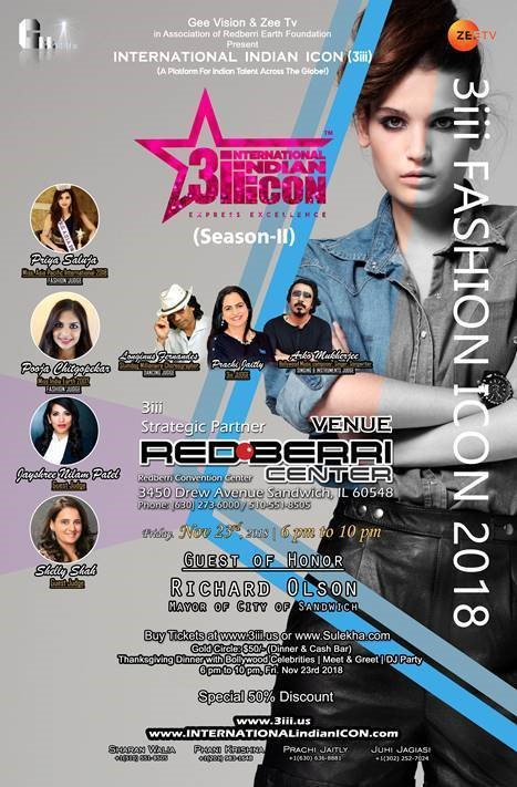 3iii fashion icon 2018 poster