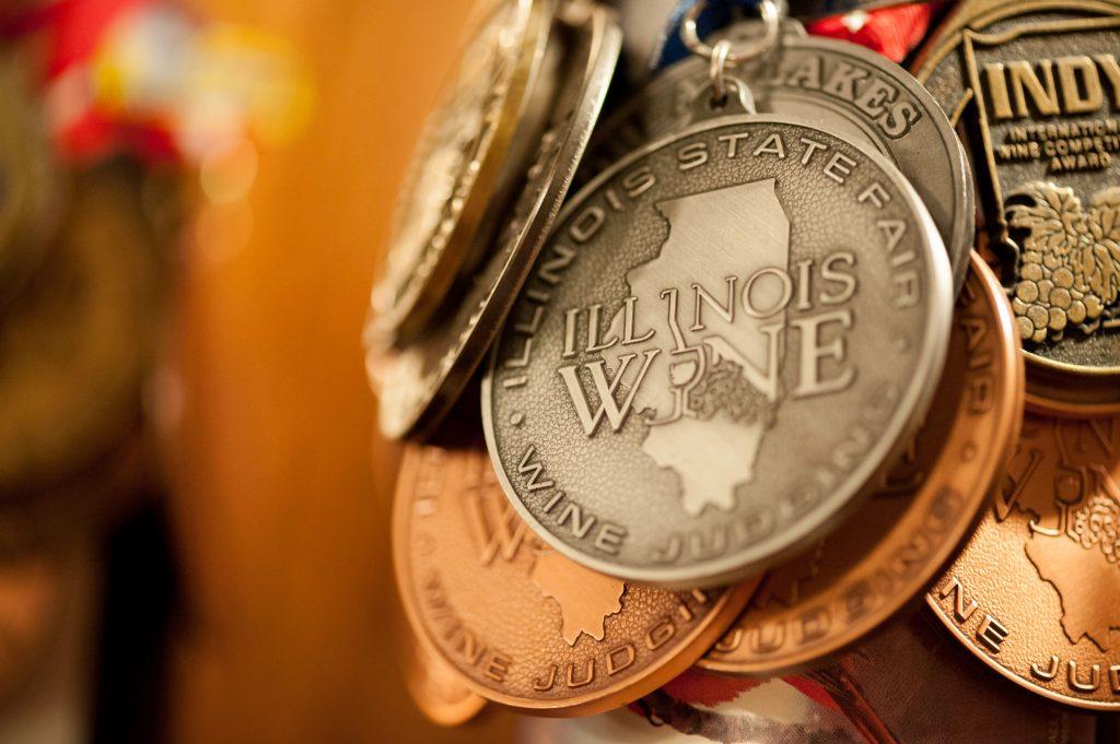illinois state fair wine medal
